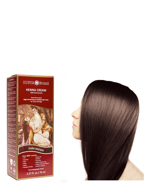 Henna Cream Dark Brown