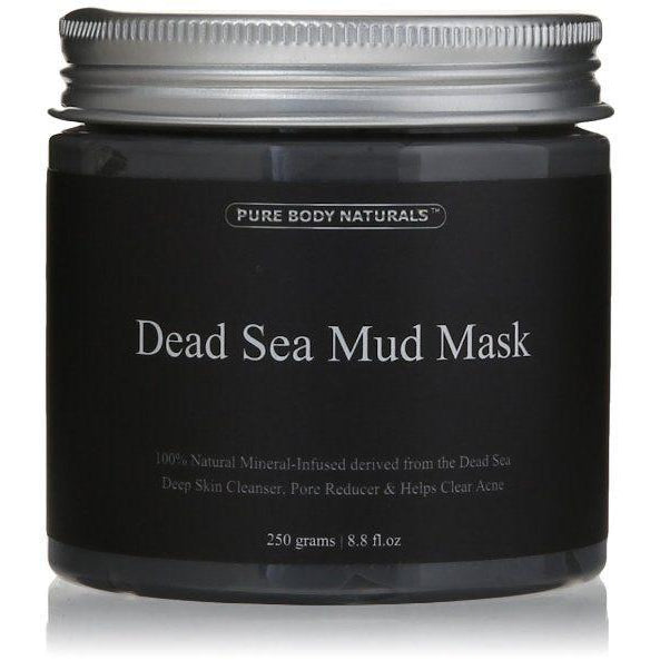 Pure Body Naturals  Dead Sea Mud Mask - 250g / 8.8 fl oz