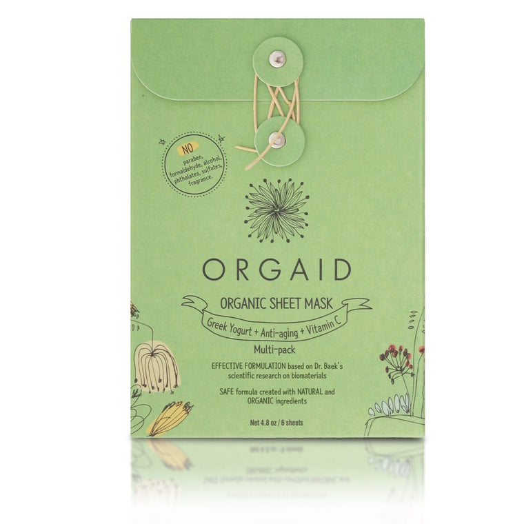 ORGANIC SHEET MASK MULTI-PACK (2 OF EACH MASK)