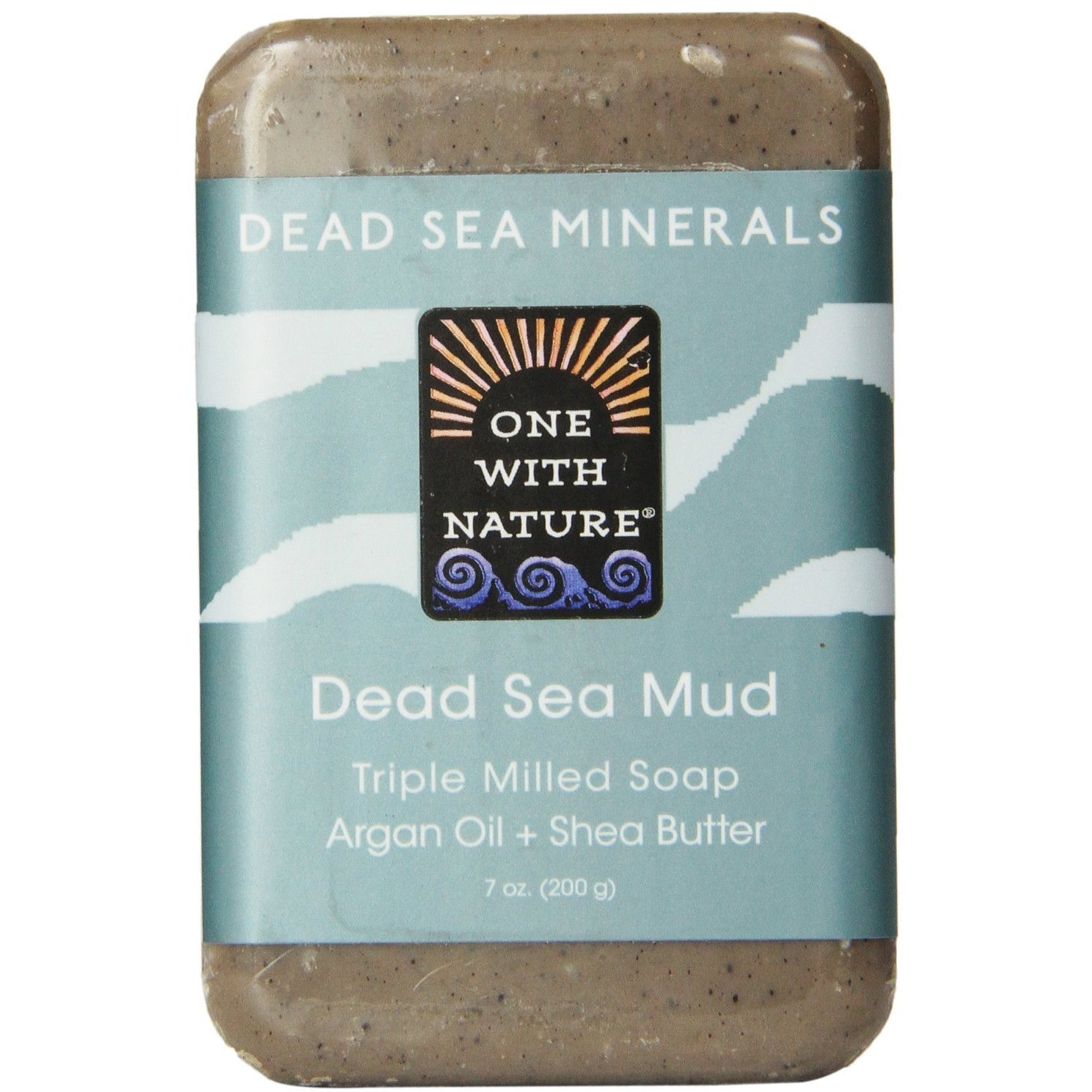 One With Nature Dead Sea Mud Dead Sea Minerals Soap, 7 Ounce Ba