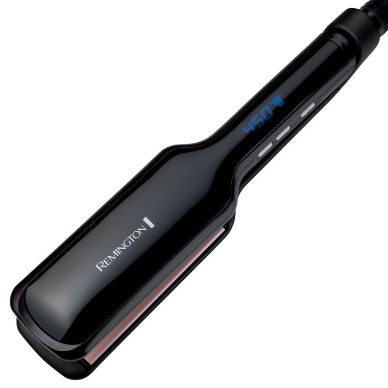 "Remington  S9520 T|Studio Pearl Ceramic 2"" Wide Straightener"