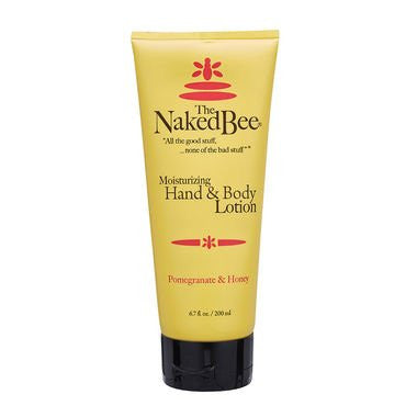 The Naked Bee - Pomegranate & Honey Moisturizing Hand & Body Lotion, 6.7oz (.19kg)