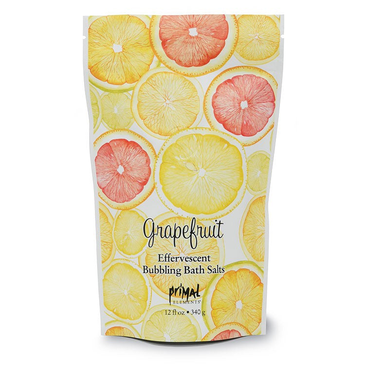 Primal Elements GRAPEFRUIT Bubbling Bath Salts