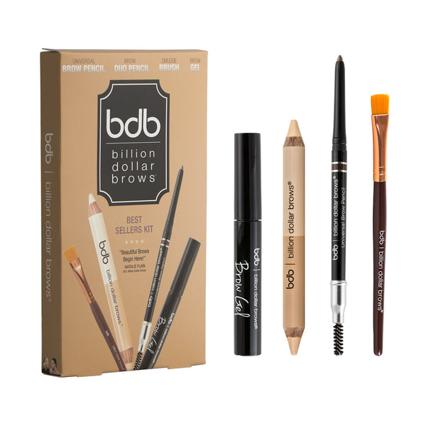 bdb Best Sellers Kit – Complete Brow Tools by Billion Dollar Brows