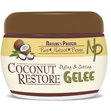 Nature's Protein - Coconut Oil Styling and Setting Gelee