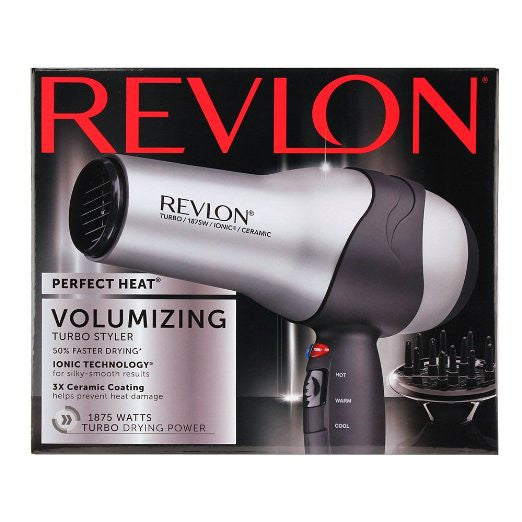 Revlon  Perfect Heat Volumizing Turbo Styler RV473 (Blow Dryer )