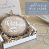 Have a Married Little Christmas Personalized Wood Slice Christmas Tree Ornament | Rich Design Co