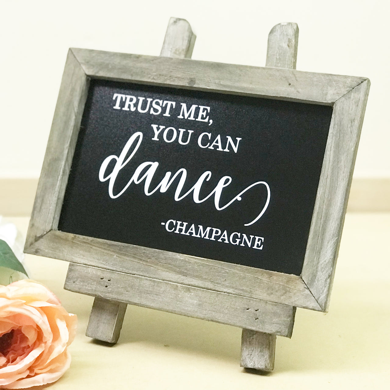 Trust Me You Can Dance Chalkboard | Rich Design Co