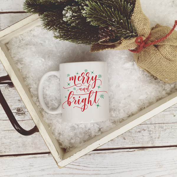 Merry & Bright Coffee Mug | Rich Design Co