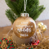 Newlyweds Christmas Ornament | Rich Design Co