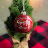 Personalized Ornament for Newlyweds | Rich Design Co