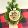 'Married Christmas' 2017 Christmas Ornament | Rich Design Co