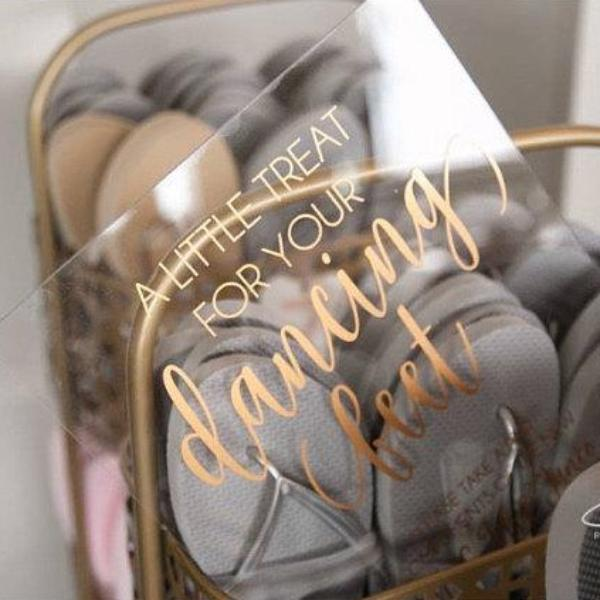 """A Little Treat for Your Dancing Feet"" Acrylic Sign - Rich Design Co"