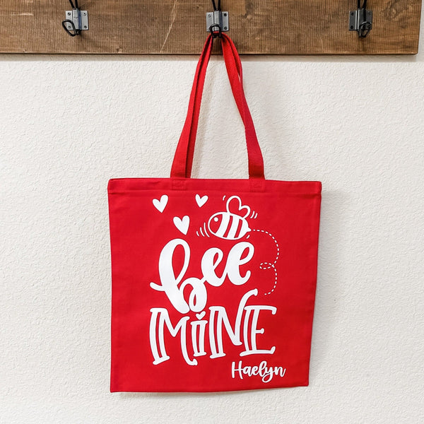 Bee Mine Kids Valentine's Day Goodie or Gift Bag - Rich Design Co