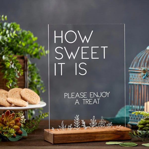 How Sweet It Is Acrylic Sign - Rich Design Co