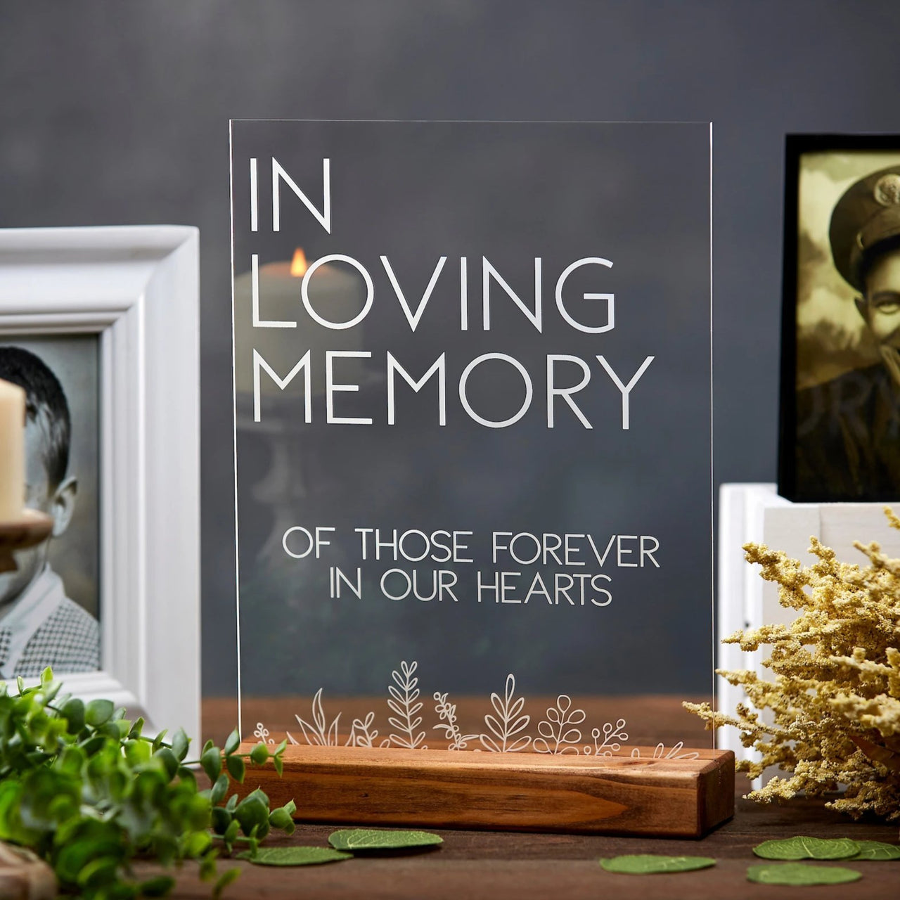 In Loving Memory Acrylic Sign - Rich Design Co