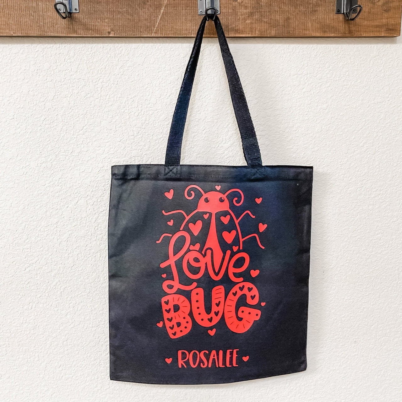Love Bug Kids Valentine's Day Goodie or Gift Bag - Rich Design Co