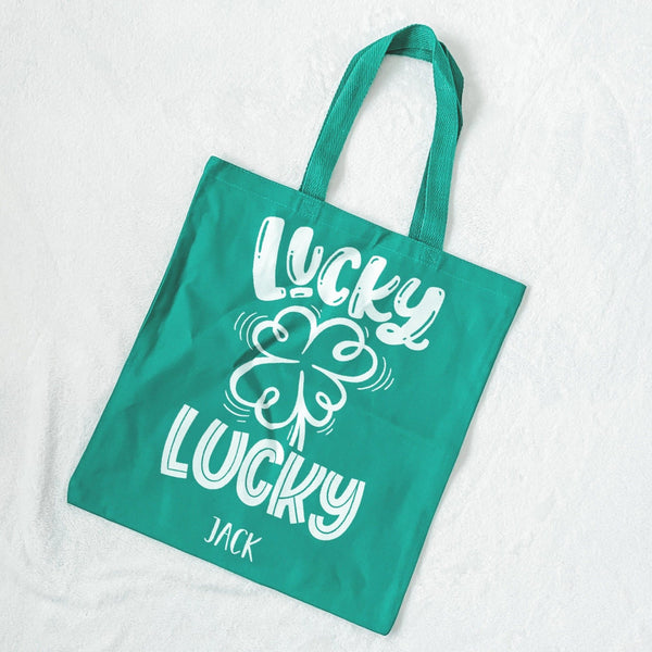 Lucky Lucky Kids St. Patrick's Day Bag - Rich Design Co