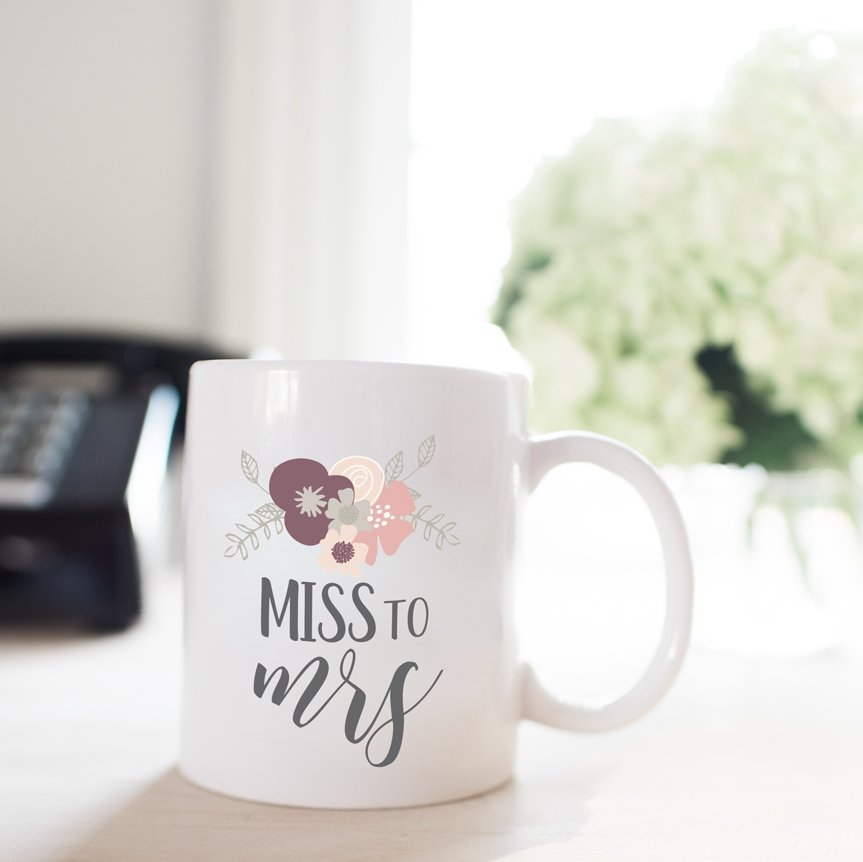 Miss to Mrs Coffee Mug - Rich Design Co