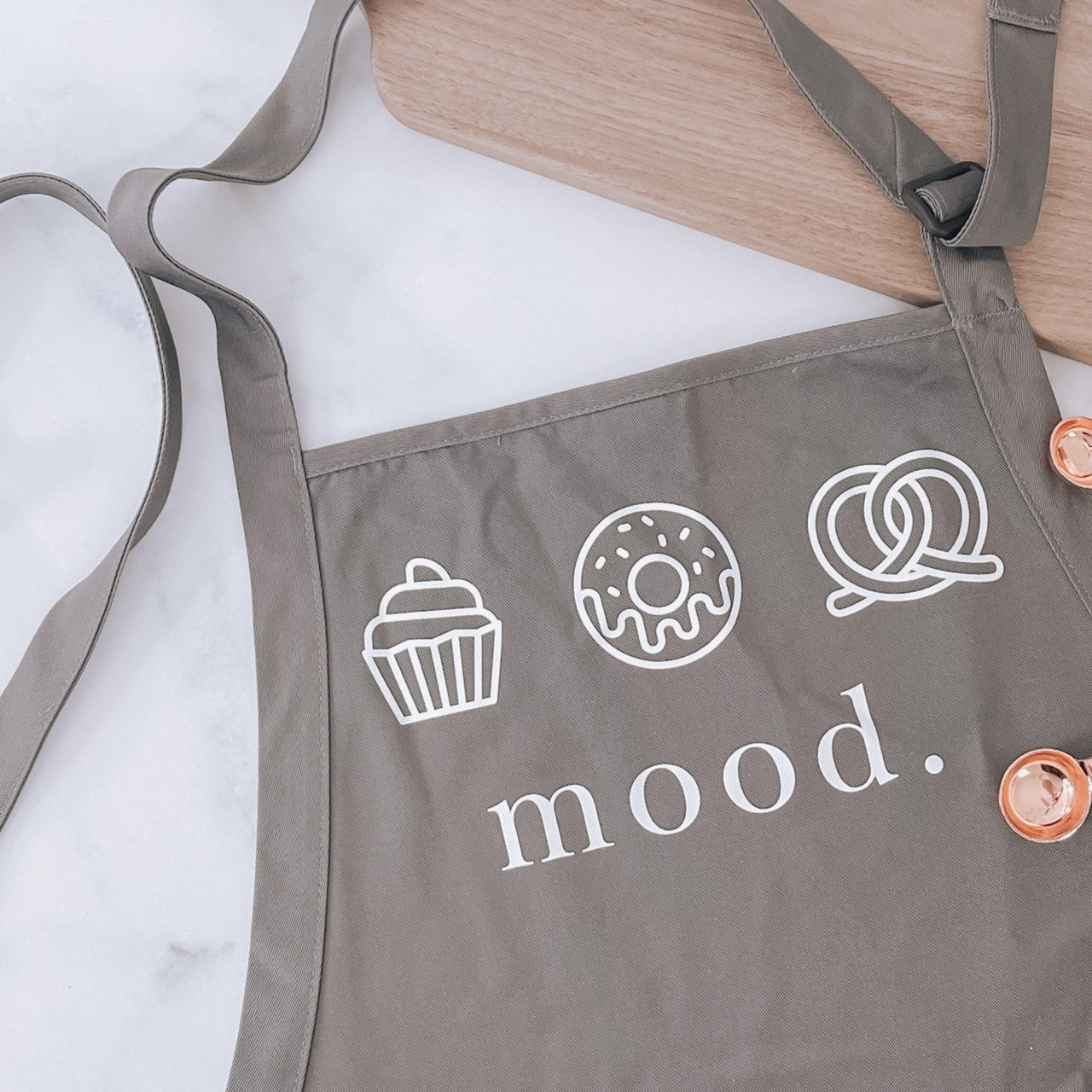 Mood Apron for Foodies and Bakers - Rich Design Co