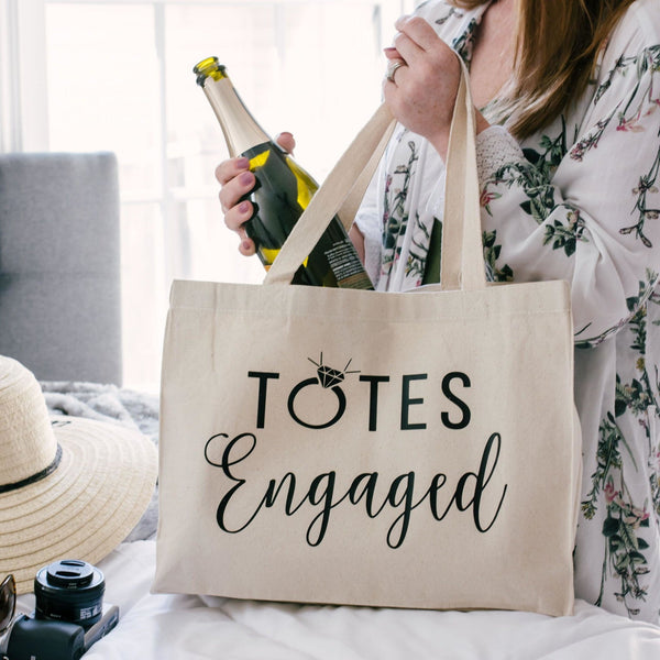 Totes Engaged Canvas Tote Bag - Rich Design Co