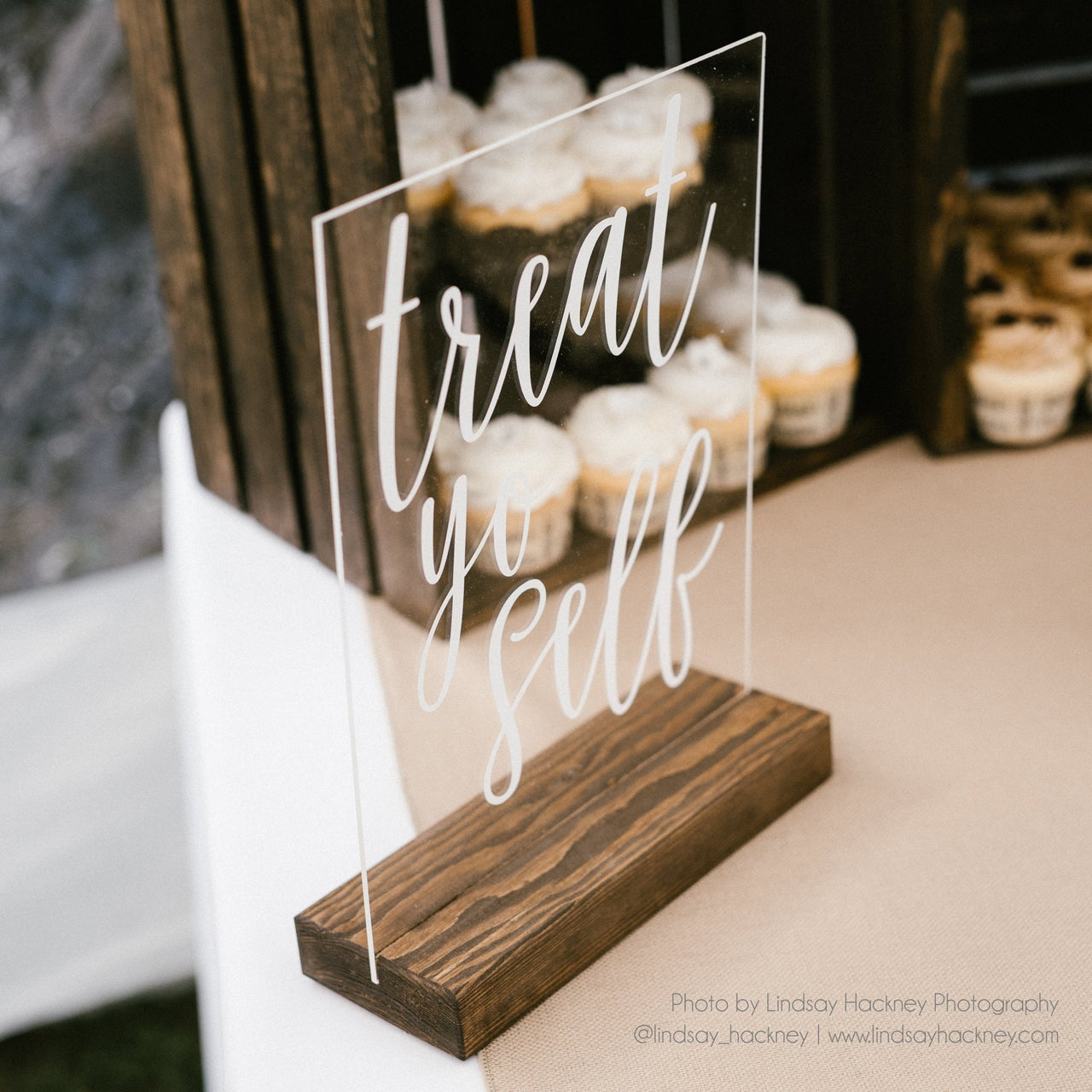 Treat Yo Self Acrylic Sign - Rich Design Co