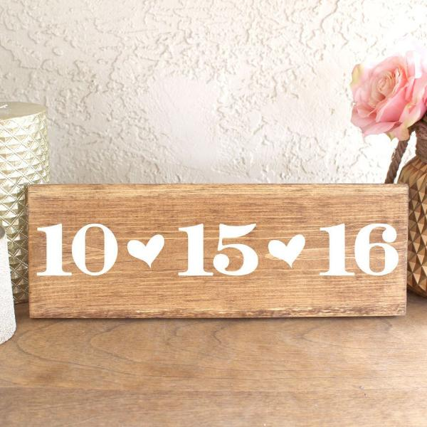 Wedding Date Sign - Rich Design Co