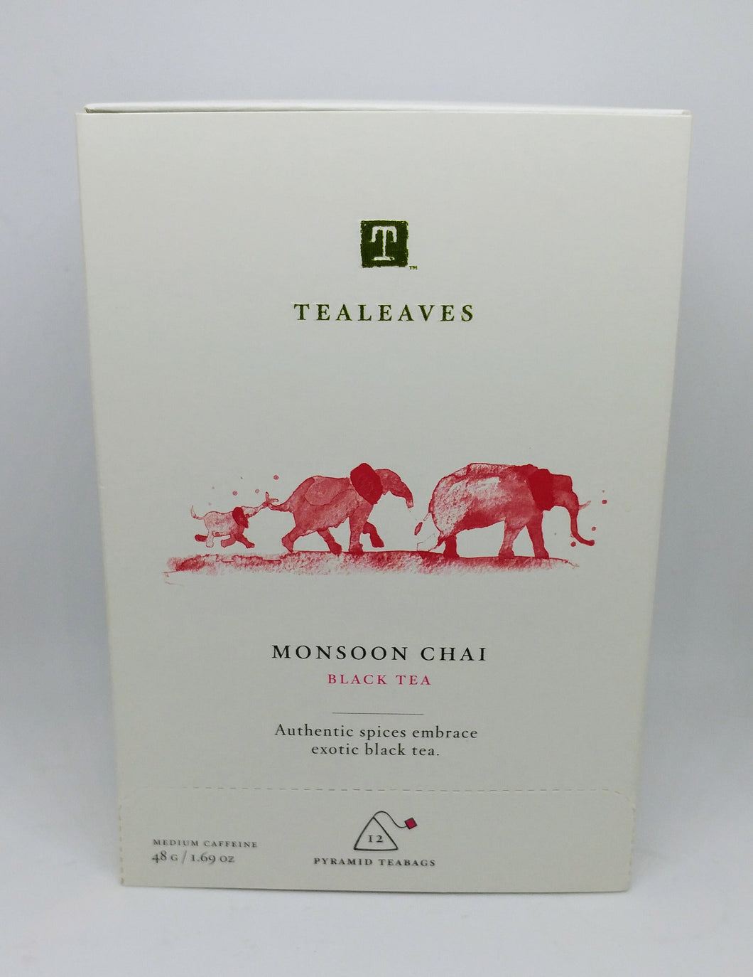Tealeaves Tea - Organic Monsoon Chai Black Tea 48g
