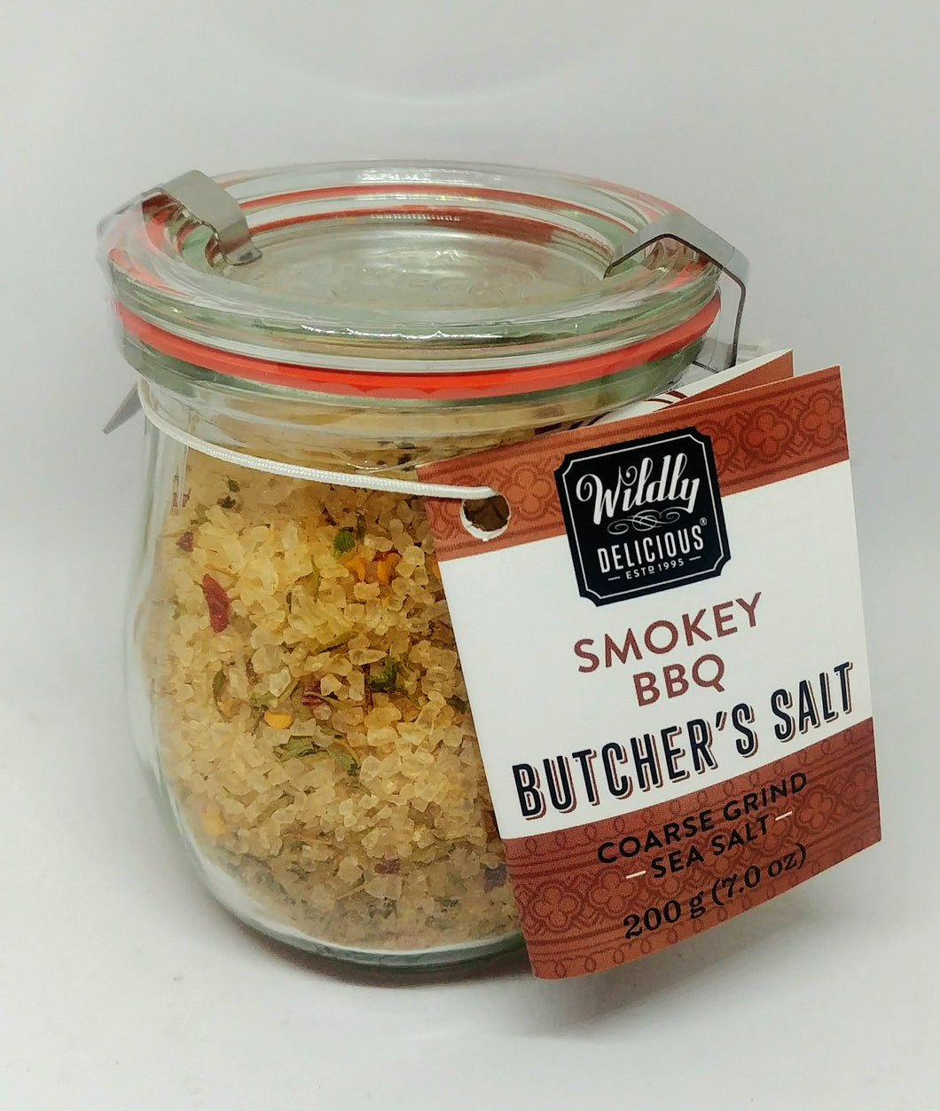 Wildly Delicious Butcher's Salt - Smokey BBQ 200g