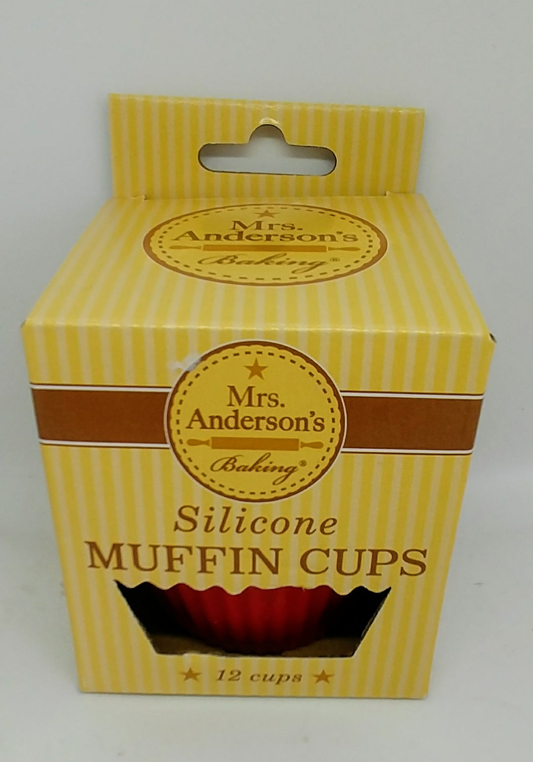 Mrs. Anderson's HIC Silicone Muffin Cups Set 12