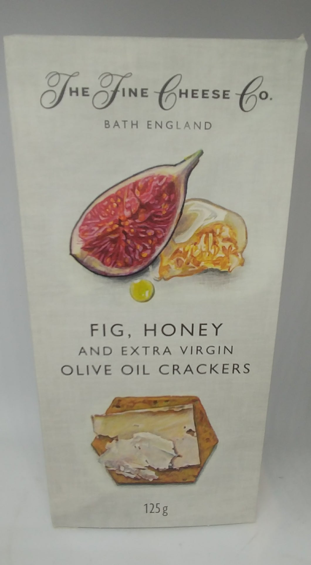 The Fine Cheese Co. Crackers - Fig, Honey and Extra Virgin Olive Oil 125g