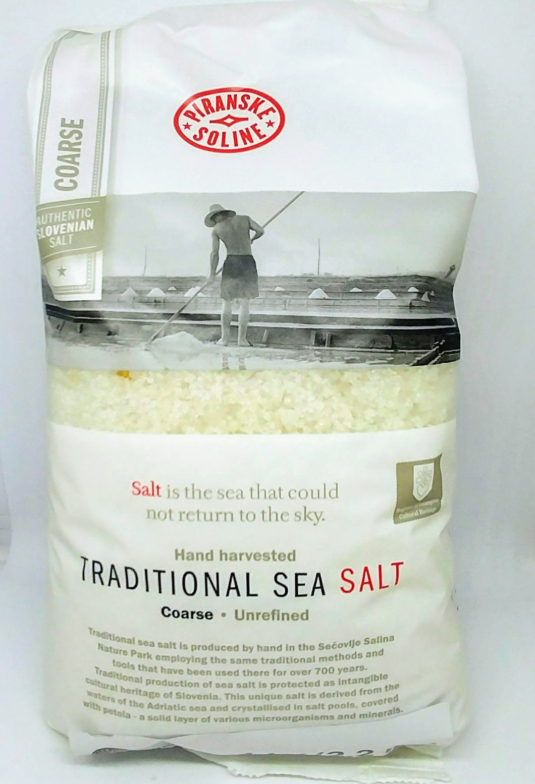 Piranske Soline Traditional Sea Salt 1kg