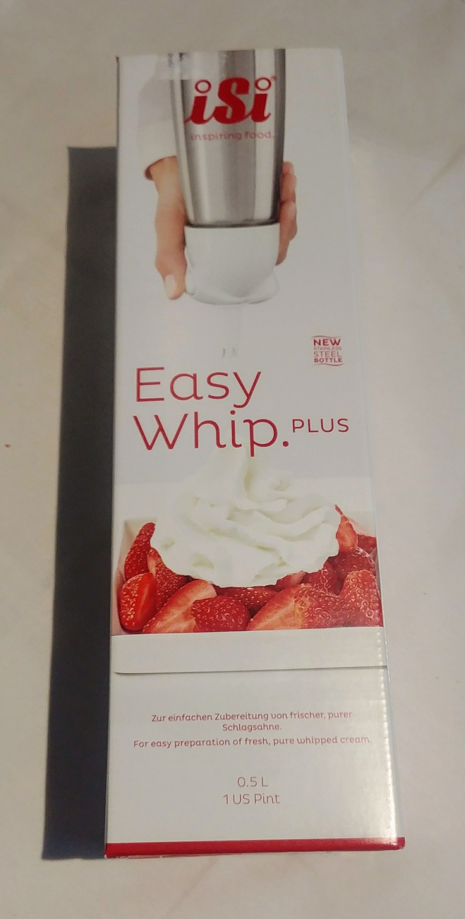 iSi Easy Whip Plus - Stainless Steel Exterior