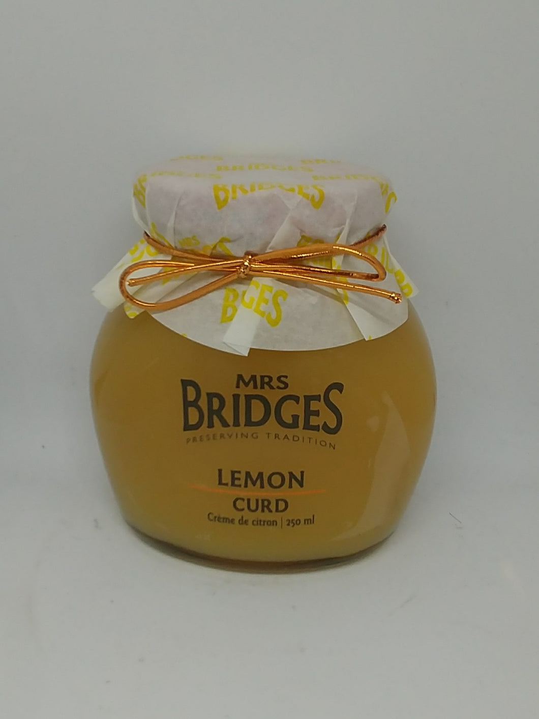 Mrs. Bridges Lemon Curd 250mL