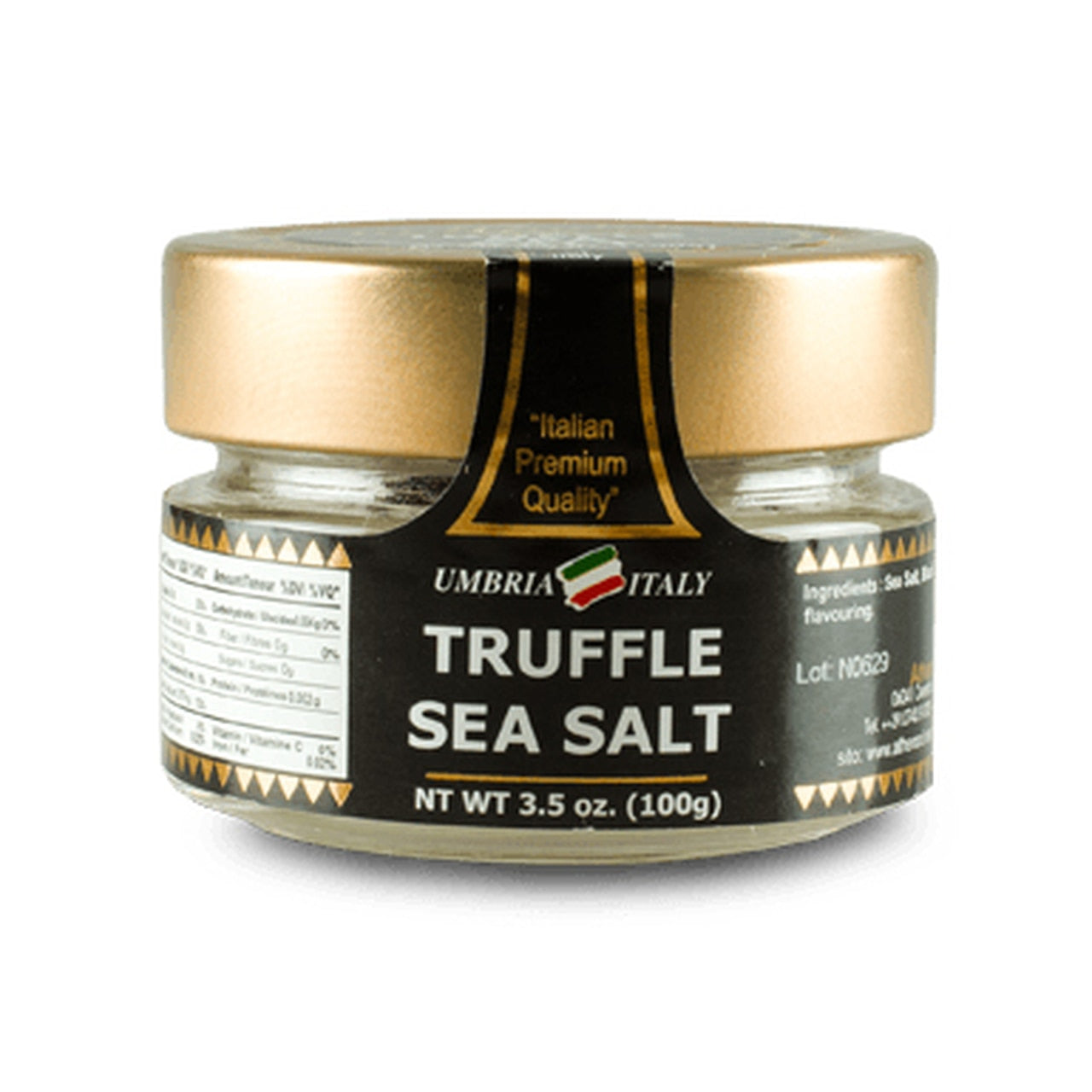 Umbria Truffle Sea Salt 100g