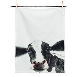 Abbott Cow Tea Towel