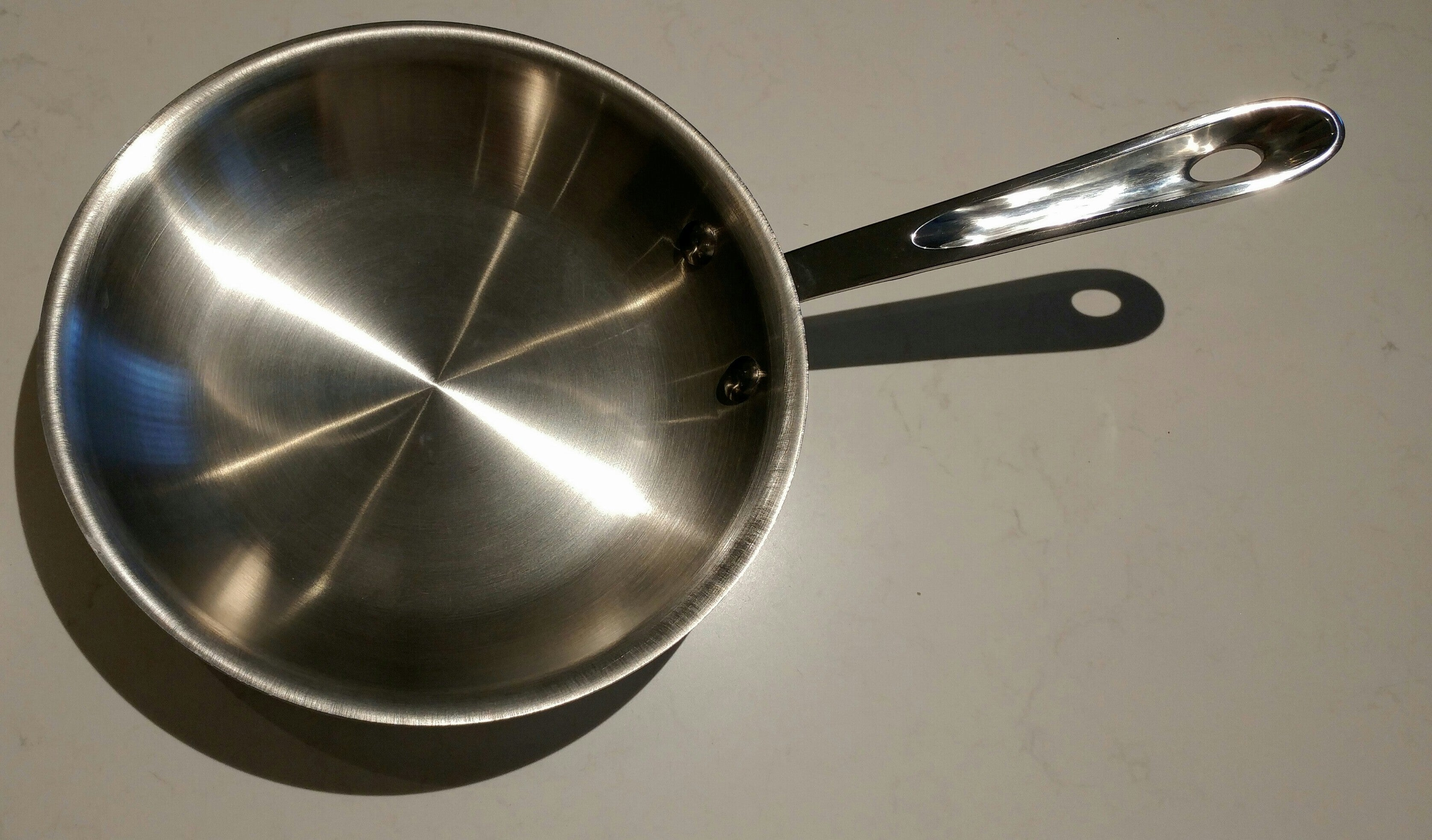 "All-Clad D5 Stainless Steel Fry Pan 8"" Polished"