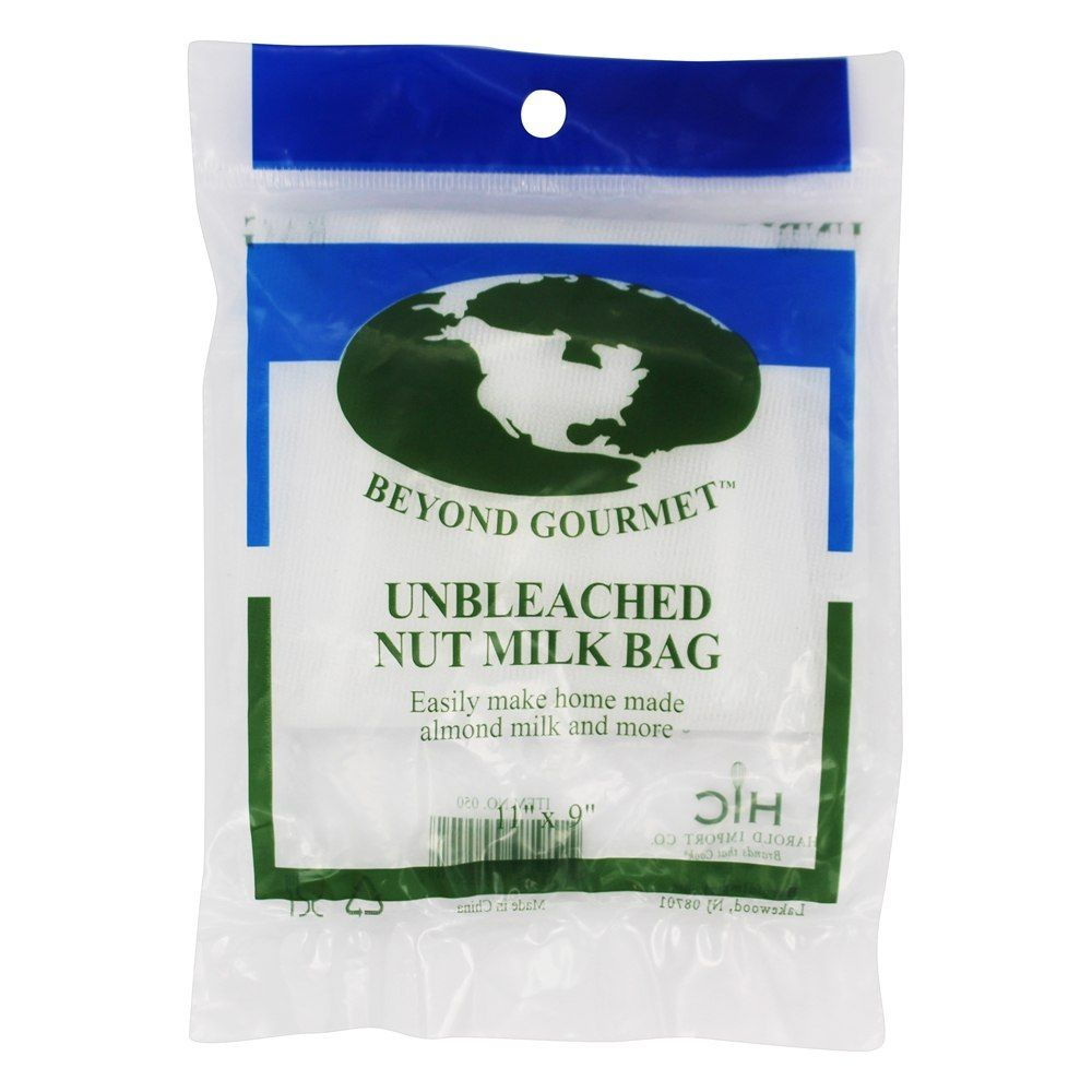 HIC Unbleached Nut Milk Mag