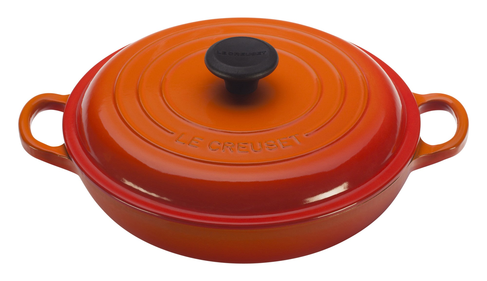 Le Creuset Enamelled Cast Iron Braiser 3.5L Flame
