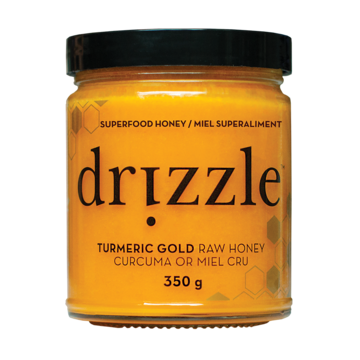 Drizzle Raw Honey - Turmeric Gold 350g