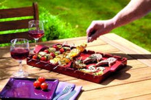 Emile Henry France Grill Stone Barbecue - Black (Fusain)