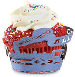 Load image into Gallery viewer, FoxRun Train Cupcake Wraps