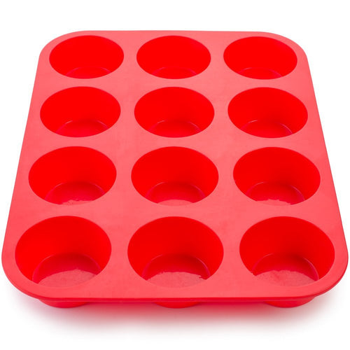 Mrs. Anderson's HIC Silicone Muffin/Cupcake Pan 12