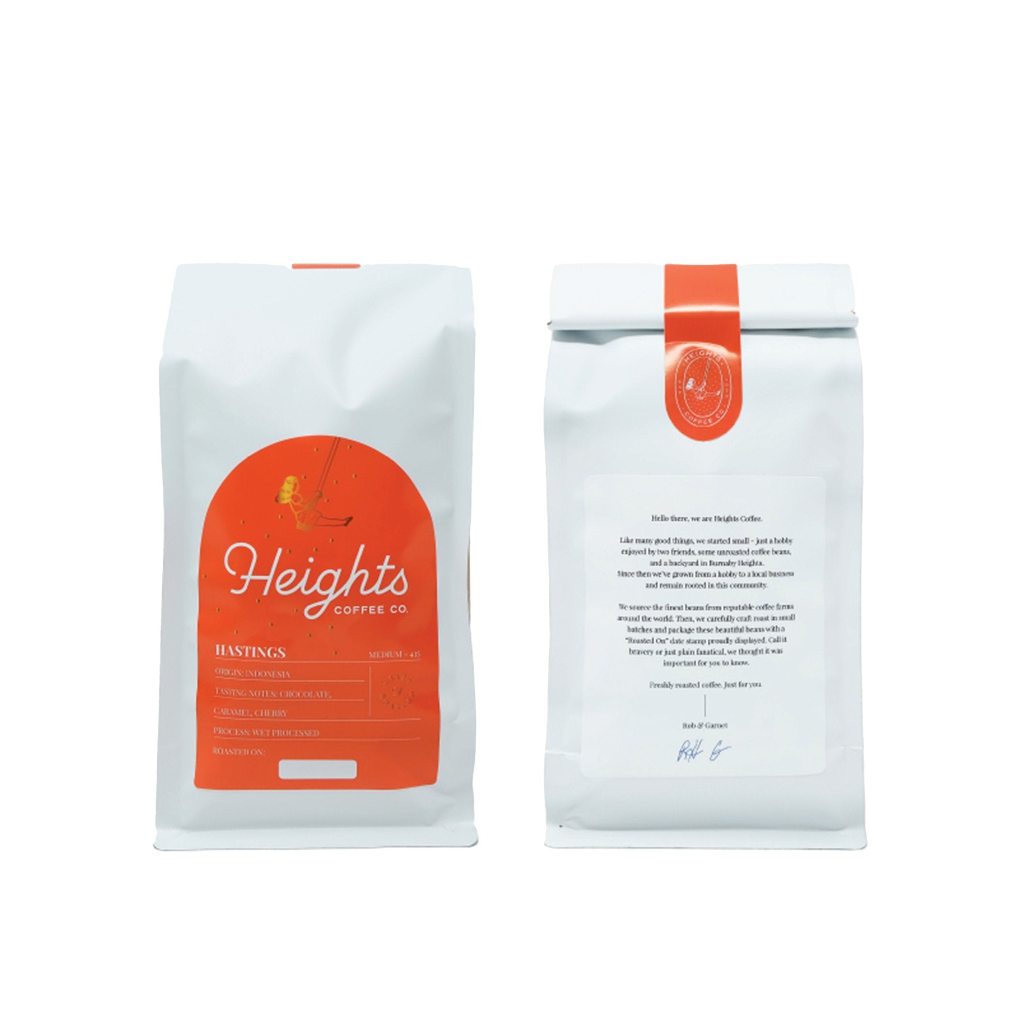 Heights Coffee Co. - Hastings Beans