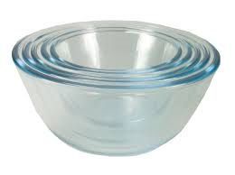 KitchenBasics Glass Bowls