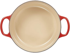 Le Creuset Round Cast Iron French Oven Cherry 3.3L