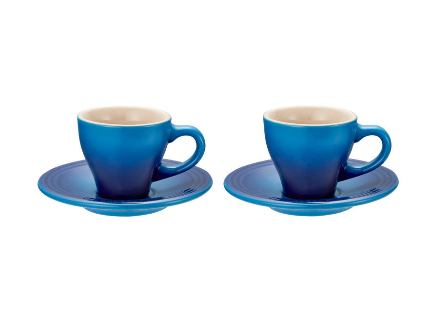 Le Creuset Espresso Cup Set of 2 Mars Blue