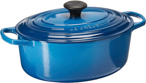 Le Creuset Oval Dutch Oven Mars Blue 4.7L
