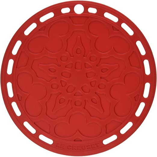Le Creuset Silicone Trivet - Cherry Red