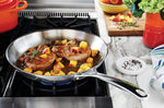 Load image into Gallery viewer, Le Creuset Stainless Steel Fry Pan - 12""